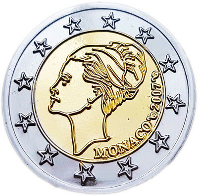 2 Euro Monaco Grace Kelly 2007 - Probe Essai Trial !