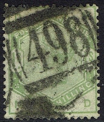 Great Britain, Used, 107, Great Centering