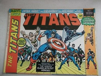 The Titans No 1 Oct 25 1975 - Marvel Comics