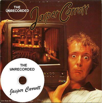 Jasper Carrott - on audio CD  ‎– The Unrecorded Jasper Carrott  (1979)