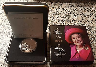 Queen Mother Proof Silver Canadian Dollar Coin