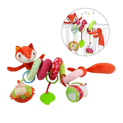 TOYMYTOY Activity Spiral Crib Toys Pendentif, poussette Spirale Jouets pour Baby