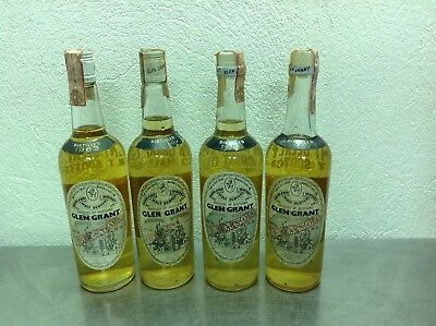 Glen grant anni 60 ....lot 4 bottles .....63-64-66-67