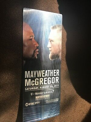 Floyd Mayweather Connor Mcgregor used $10,000 Ticket Stub from money fight