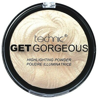 Technic Get Gorgeous Superfine Highlighting Compact Highlighter Puder 12g (35)