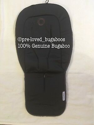 Bugaboo Universal seat liner Charcoal Grey Padded Fits All - Bee, Donkey Etc