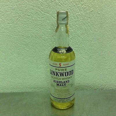 whisky old pure Linkwood 1973 cl 75 vol 43