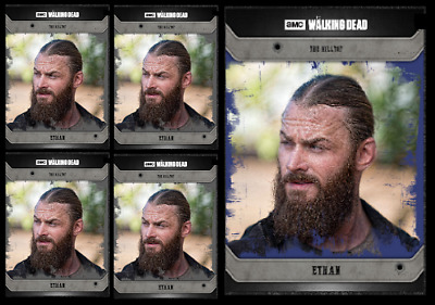 Topps The Walking Dead Card Trader COMMUNITY ETHAN Black & Blue Digital