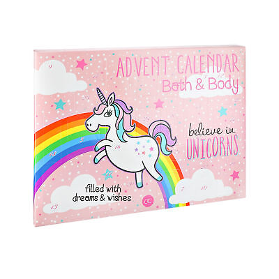 Kosmetik Adventskalender Believe in Unicorns Einhorn Beauty 24 Überraschungen