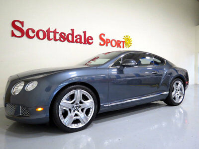 2012 Bentley Continental GT ONLY 14K MILES, BEAUTIFUL THUNDER METALLIC, FULLY 12 BENTLEY GT MULLINER w 14K MILES, POLISHED WHLS, BLACK PIANO VENEER, AS NEW!