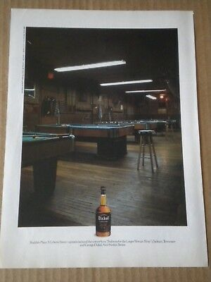 1989 George Dickel Whisky Ad  Buddies Place S. Liberty St  Jackson Tennessee
