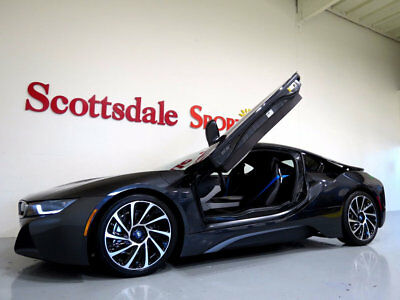 """2015 BMW i8 ONLY 3K MILES, PURE IMPULSE WORLD PKG, 20"""" iLITE W 2015 BMW i8 * ONLY 3K MILES, PURE IMPULSE WORLD PKG, 20"""" iLITE WHLS, AS NEW!!"""