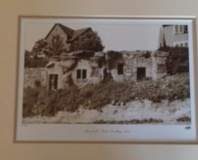 Francis frith print Mansfield rock dwelling 1949