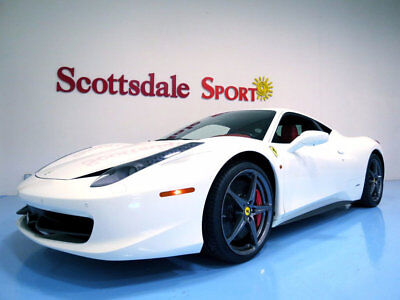 2012 Ferrari 458 7K MILES, SHIELDS, CALIPERS, CARBON FIBER, 20 FORG 2012 458 ITALIA * 7K Mi, SHIELDS, CALIPERS, CARBON FIBER, FORGED WHEELS, AS NEW!
