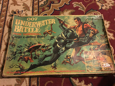 Triang 007  Underwater battle from Thunderball board game