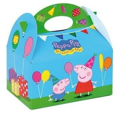 Wholesale Job Lot 48 Peppa Pig Themed Food Boxes *Party *Boys *Girls