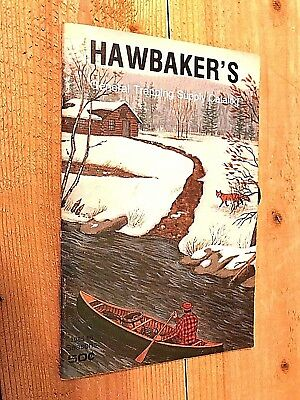 1985-86 Hawbakers General Fur Trapping Supply Catalog