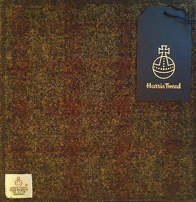 HARRIS TWEED POCKET SQUARE HANDKERCHIEF Cravat USA Tartan KILT Burberry Drakes