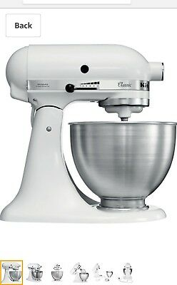Kitchenaid Classic Mixer in White - BNIB RRP £349.00