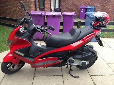 gilera nexus 250ie motorbike scooter low miles