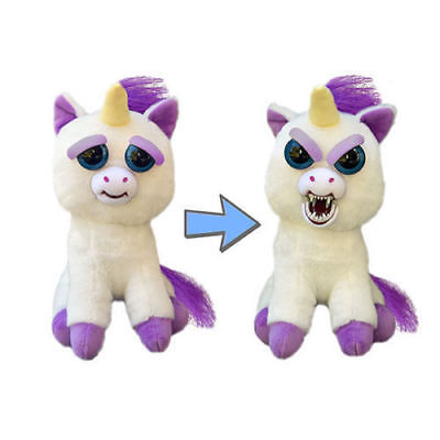 Change Face Feisty Pets Plush Toys With Funny Expression Stuffed Animal Cotton