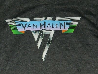 "NICE Van Halen T Shirt ( Women's slim fit, no tag, 16"" pit-pit)"
