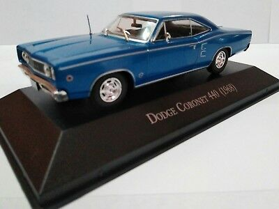 Dodge Coronet 440 escala 1/43 autos memorables México