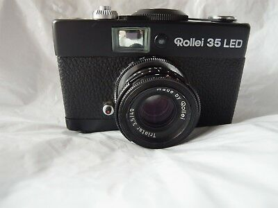Rollei 35 led 35 street and travel  camera with triplet lens