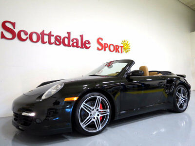 2008 Porsche 911 , 6SP MANUAL w ONLY 9K MILES!! * SPRT CHRONO, PARK 2008 997 TURBO CAB w ONLY 9K MILES, 6SP MANUAL, RARE COLOR, LOADED, AS NEW!!