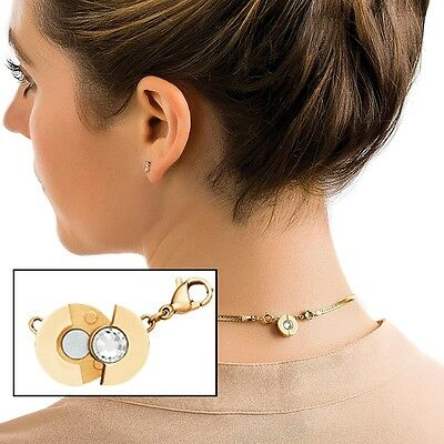 Fairy Fastener Necklace Fairy New Clasp Adaptor Snaps Together Securely
