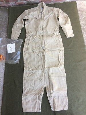 Rare U.S.Navy Bauer Coverall Summer Flying Type 1 Sz 40R Dead Stock New In Bag