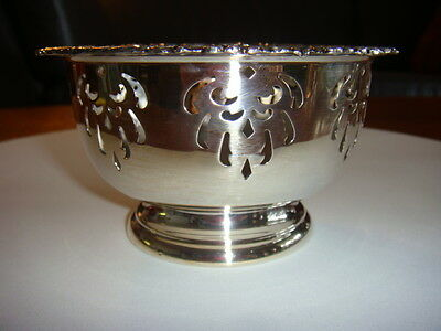 Vintage Silver Victorian Plated Bowl