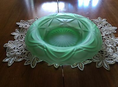 Antique Bowl Opaque Pale Geen (Jadeite)