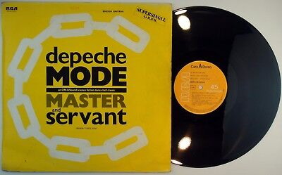 "12"" DEPECHE MODE ‎– Señor Y Esclavo -Spain 1984 MAXI LIMITED ED. Numbered # 0698"