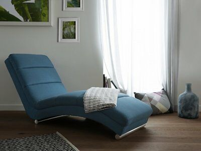 Sofa Blau - Couch - Relaxsessel - Recamiere - Liegestuhl - Relaxliege - LUNULA