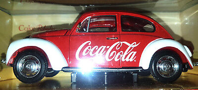 Volkswagen Beetle Coca Cola  - Scala 1/24 - Oxford  WE002CC - Nuovo