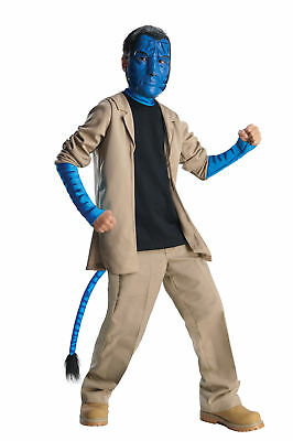 Avatar Jake Sulley Child Deluxe Costume Jacket Movie Character Halloween Rubies