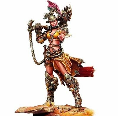 █ Resin 1/24 75mm Ancient Female Warrior Game Role Figure Unpainted TS299