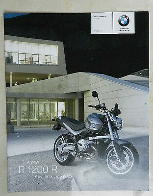 Rare 2007 R1200R Full Brochure This Released In Limited Numbers