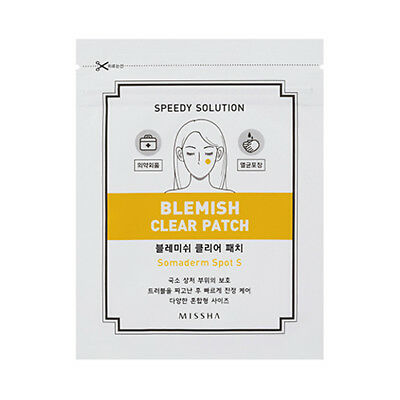 [MISSHA] Speedy Solution Blemish Clear Patch - 1pack (new) / Free Gift