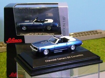 SCHUCO HO scale DIECAST ~ CHEVROLET CAMARO ~ FULLY ASSEMBLED 1/87 MODEL