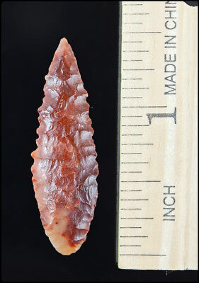 HIGHLY COLORFUL African Neolithic Point- Sahara Desert