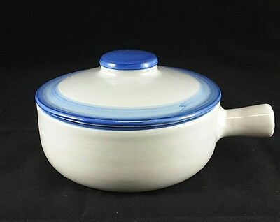 "Hadley Country Scene One (1) 6 1/2""  Large Porringer With Lid Free Ship"