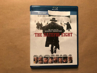 The Hateful Eight Blu-ray Disc + Case Never Used No Digital Copy No DVD
