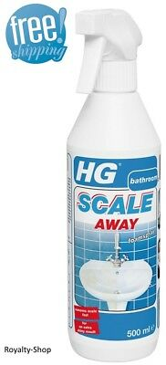 HG Scale Away Removes Lime Deposits Fast Extra Shiny Result Limescale Remover
