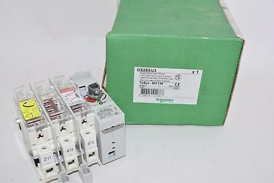 NEW Schneider Electric GS2EEU3 Fuse Disconnect Switch 30 Amp, 341138 Square D