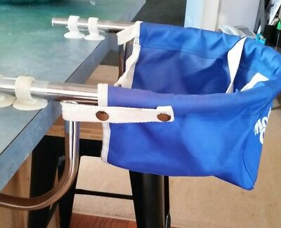 Hook on table portable high chair used