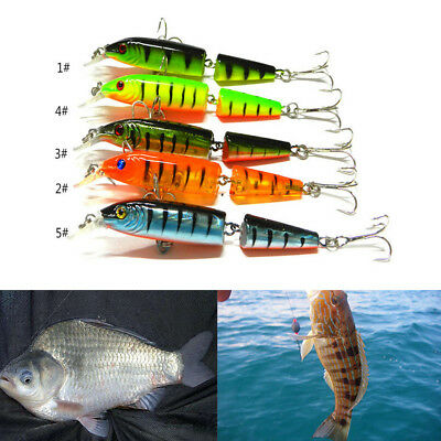 Jointed Lure Fishing Lures Crank Bait Crankbaits Tackle Haken 10.5cm / 9.6g1A