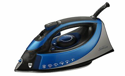 Clothes Ironing Turbo Steam XL Anti-Drip Non-Stick Soleplate Iron Shot Of Steam