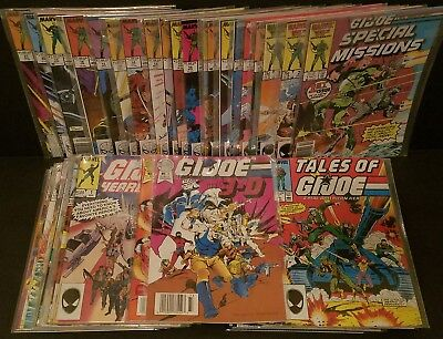 GI JOE Marvel Comic Lot Special Missions 1- 27 + Yearbook + European + Tales Of